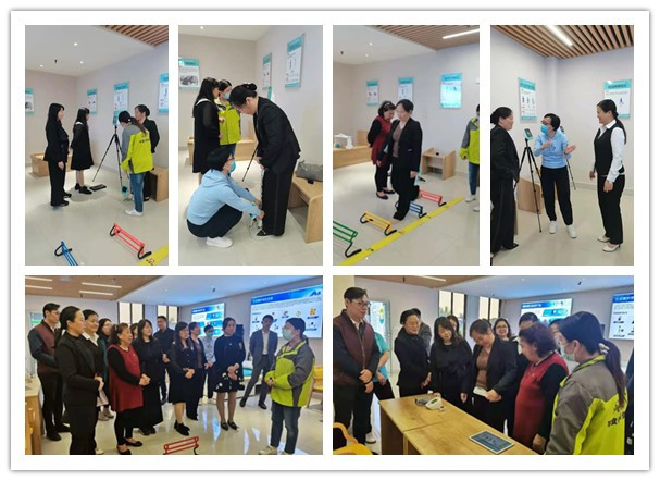 东莞市家庭服务业协会莅临平安铃服务中心参观指导
